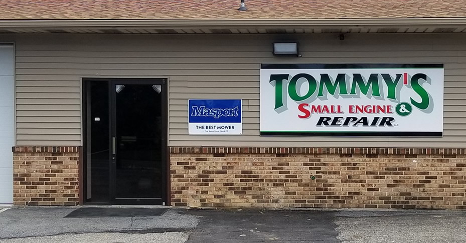 Tommys small engine storefront cropped