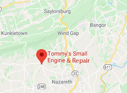 tommys small engine & repair map